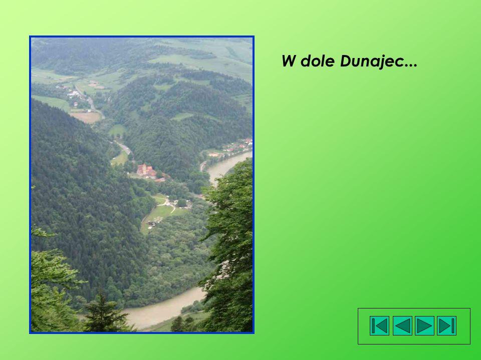 W dole Dunajec...