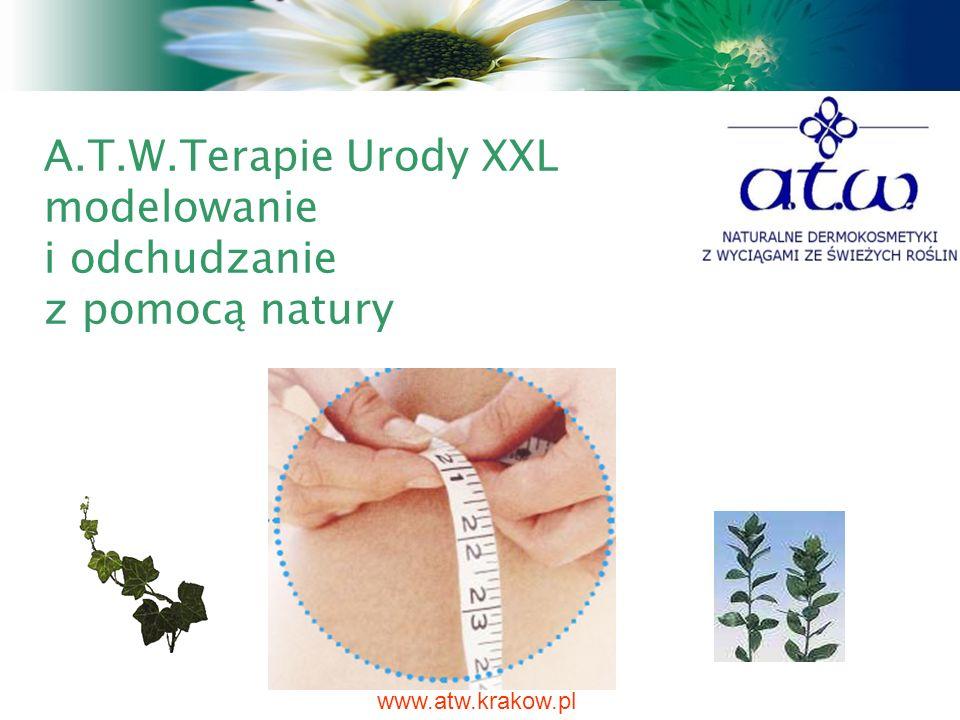 A.T.W.Terapie Urody XXL modelowanie i odchudzanie z pomocą natury www.atw.krakow.pl