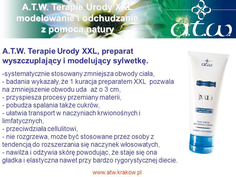 A.T.W. Terapie Urody XXL modelowanie i odchudzanie z pomocą natury A.T.W. Terapie Urody XXL, preparat wyszczuplający i modelujący sylwetkę. -systematy