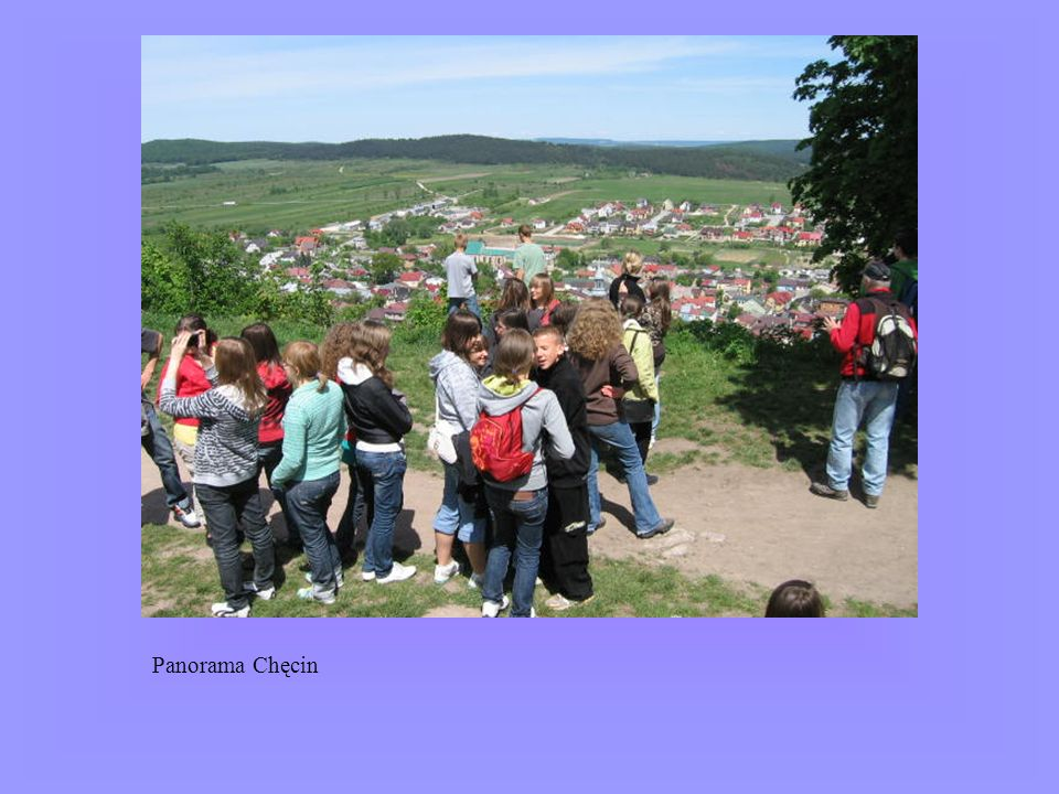 Panorama Chęcin