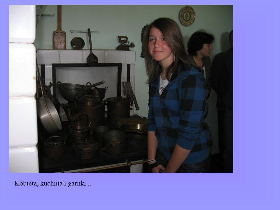 Kobieta, kuchnia i garnki...