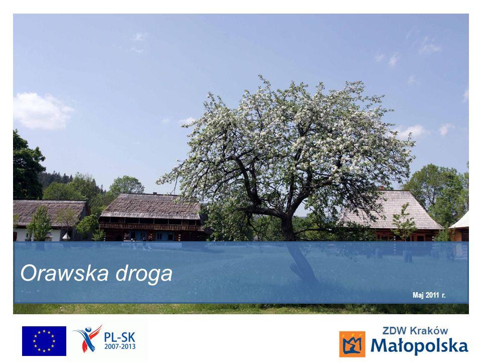 ZDW Kraków Orawska droga Maj 2011 r.