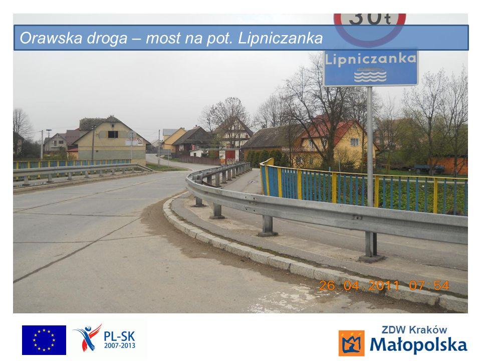ZDW Kraków Orawska droga – most na pot. Lipniczanka