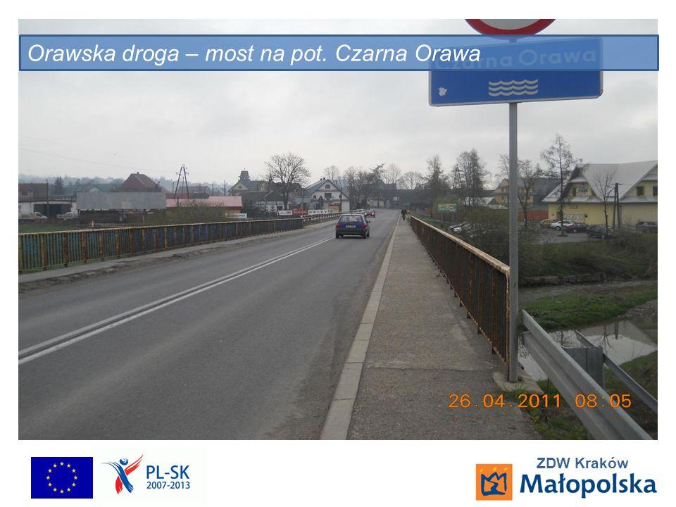 ZDW Kraków Orawska droga – most na pot. Czarna Orawa
