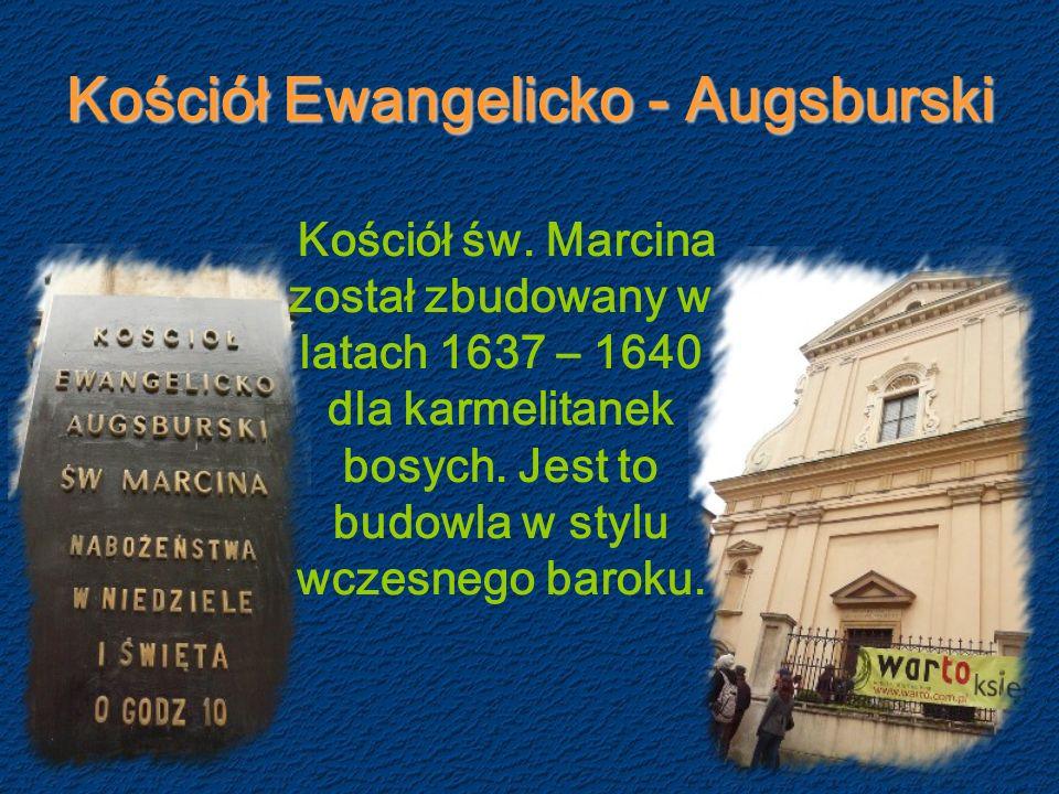 Kościół Ewangelicko - Augsburski Kościół św.