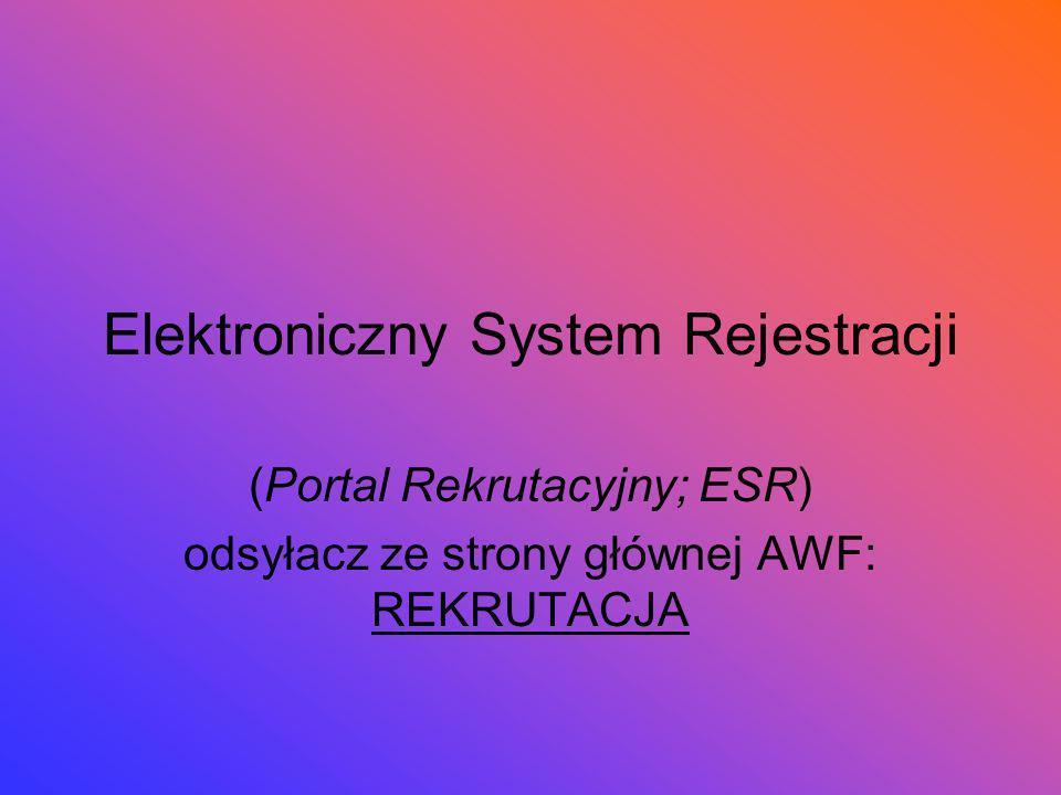 Wejście do ESR