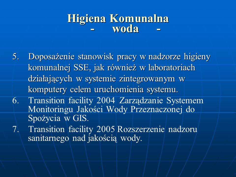 Higiena Komunalna - inne - WYTYCZNE DO PLANOWANIA NA ROK 2006 WYTYCZNE DO PLANOWANIA NA ROK 2006 nadzór nad obiektami użyteczności publicznej ze szczególnym uwzględnieniem ZOZ-ów (odpady medyczne) nadzór nad obiektami użyteczności publicznej ze szczególnym uwzględnieniem ZOZ-ów (odpady medyczne) zakłady fryzjerskie zakłady fryzjerskie problematyka wentylacji i klimatyzacji ; problematyka wentylacji i klimatyzacji ; ustawa o cmentarzach i chowaniu zmarłych /akty wykonawcze ustawa o cmentarzach i chowaniu zmarłych /akty wykonawcze powietrze (PMŚ, powietrze wewnątrz pomieszczeń) powietrze (PMŚ, powietrze wewnątrz pomieszczeń)