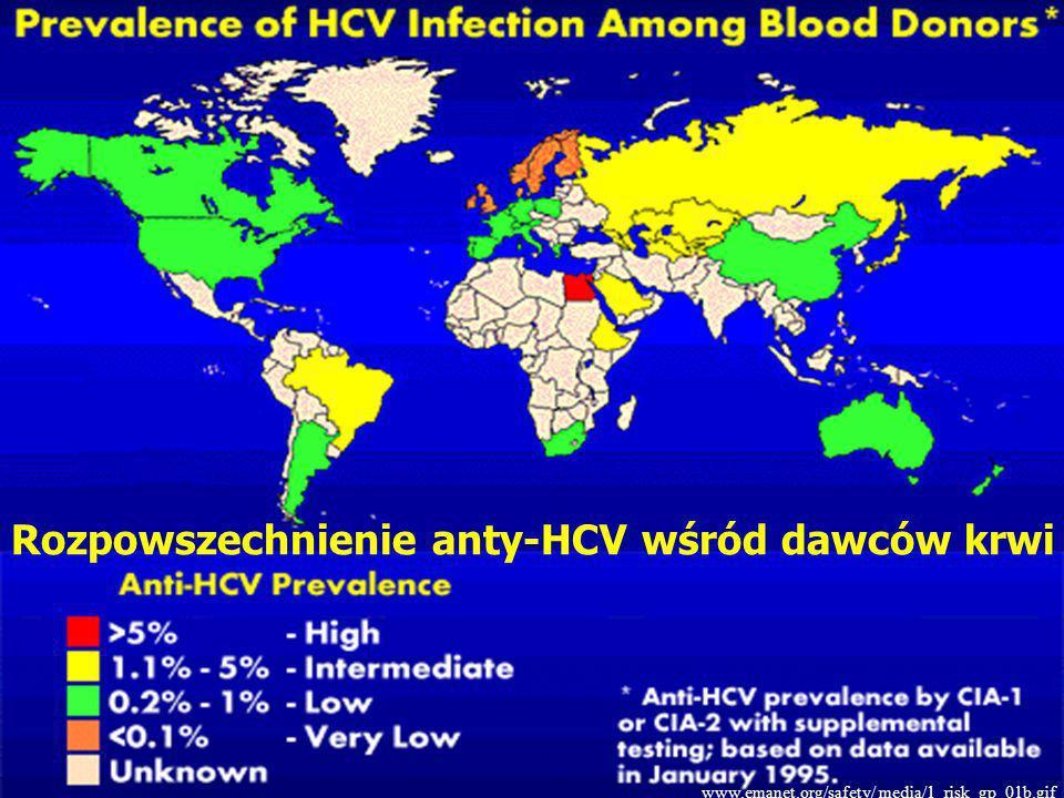 4 Rozpowszechnienie anty-HCV wśród dawców krwi www.emanet.org/safety/ media/1_risk_gp_01b.gif
