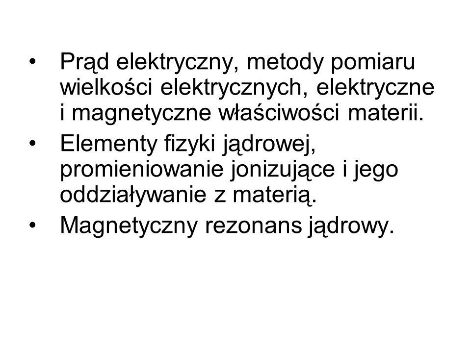 Oddziaływania elektromagnetyczne Są to oddziaływania między ładunkami znajdującymi się w spoczynku lub w ruchu.