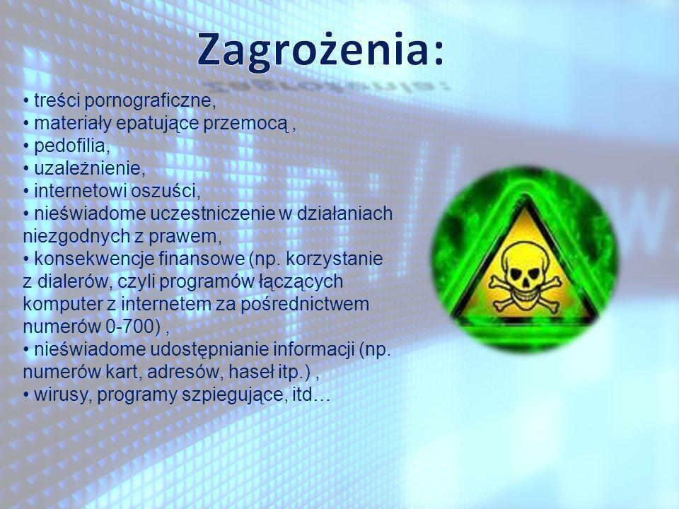 bomby logiczne, bomby logiczne, robaki, robaki, króliki (powielające się pliki mogące zająć całą powierzchnię dysku), króliki (powielające się pliki mogące zająć całą powierzchnię dysku), konie trojańskie, konie trojańskie, wirusy plikowe, wirusy plikowe, wirusy dyskowe, wirusy dyskowe, inne inne