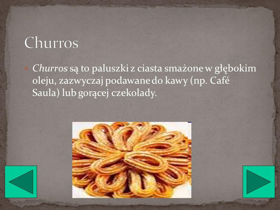 Arroz con Leche jest to ryż z mlekiem i wanilią na gęsto - potrawa pieczona w piekarniku, podawana na zimno.