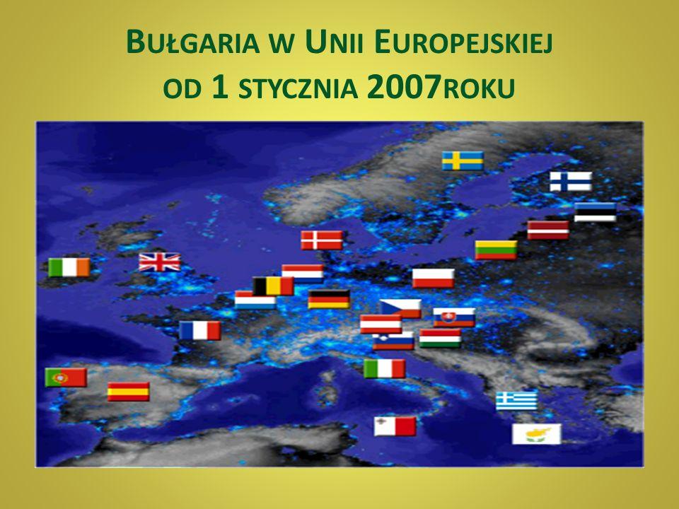 Powierzchnia – 110 993 km 3 Liczba mieszkańców – 7 679 290 Stolica – SOFIA Język urzędowy – bułgarski Alfabet - cyrylica