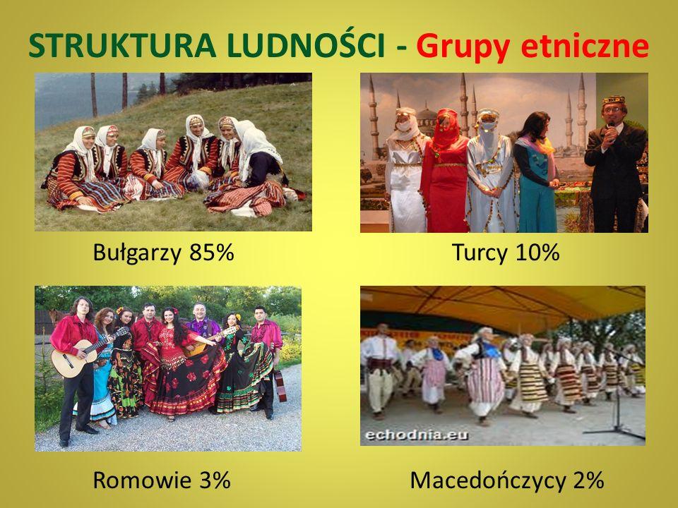 Z ASOBY NATURALNE Bułgaria nie posiada znaczących zasobów bogactw naturalnych poza: niskokalorycznym węglem lignitowym, węglem brunatnym, rudami miedz