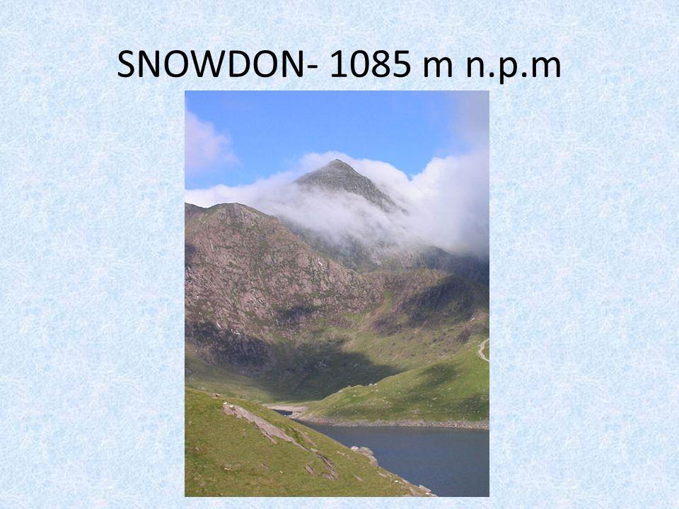 SNOWDON- 1085 m n.p.m