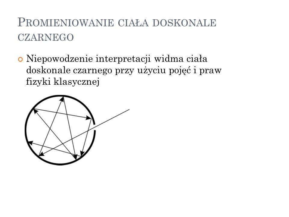 B ADANIA NAD WYŁADOWANIAMI ELEKTRYCZNYMI W ROZRZEDZONYCH GAZACH Obserwacje świecenia gazu w rurze do wyładowań i fluorescencji szkła 1838 – Faraday: przy obniżaniu ciśnienia pojawia się w przestrzeni między elektrodami ciemny obszar (ciemnia Faradaya) Od 1875 – Johann Heirich Geissler – wytwarzanie rur do wyładowań wypełnionych rozrzedzonymi gazami Od 1857 - Julius Pluckner – wpływ magnesu na wygląd wyładowania (wniosek: z katody wydostają się jakieś promienie) 1869 – Johann Wilhelm Hittorf – promienie rozchodzą się prostoliniowo, ale nie ulegają odchyleniu w polu magnetycznym ( Glimmstrahlen – promienie świecące) 1876 – Eugen Goldstein – nazwa: promienie katodowe 1871 – Cromwell Fleetwood Varley – hipoteza korpuskularnej natury promieni katodowych