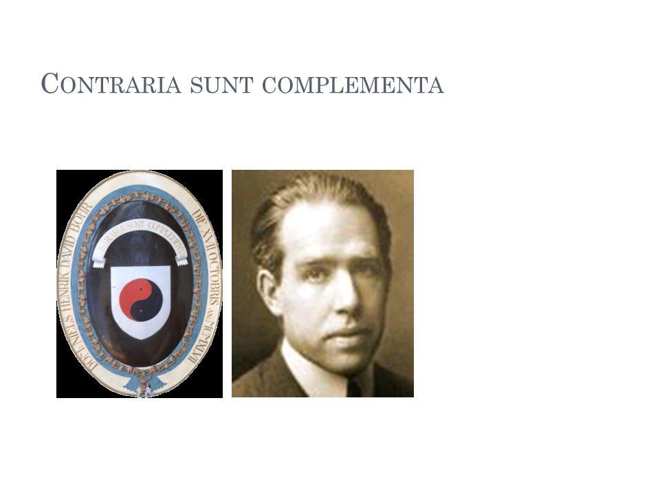 C ONTRARIA SUNT COMPLEMENTA 95