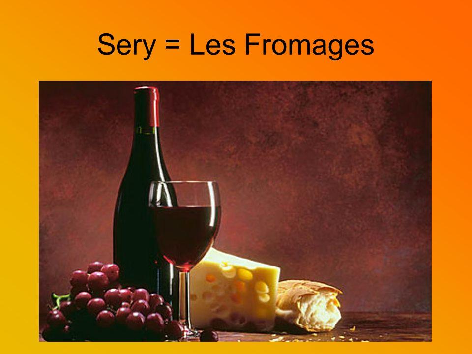 Francuska tradycja serów Ser jest tradycyjną potrawą Francuzów.