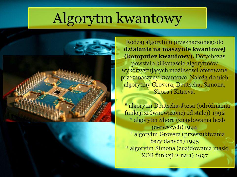 Algorytm, który w danej chwili pozwala na wykonywanie wielu operacji, w przeciwieństwie do algorytmów sekwencyjnych.