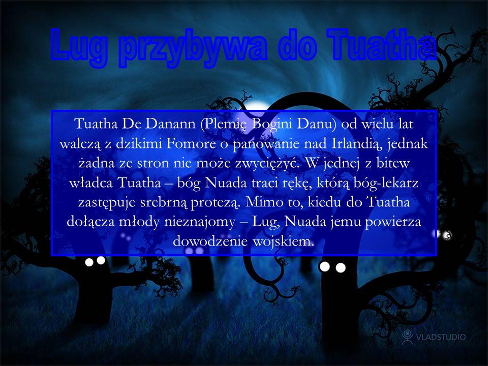 Tuatha De Danann (Plemię Bogini Danu) od wielu lat walczą z dzikimi Fomore o panowanie nad Irlandią, jednak żadna ze stron nie może zwyciężyć. W jedne