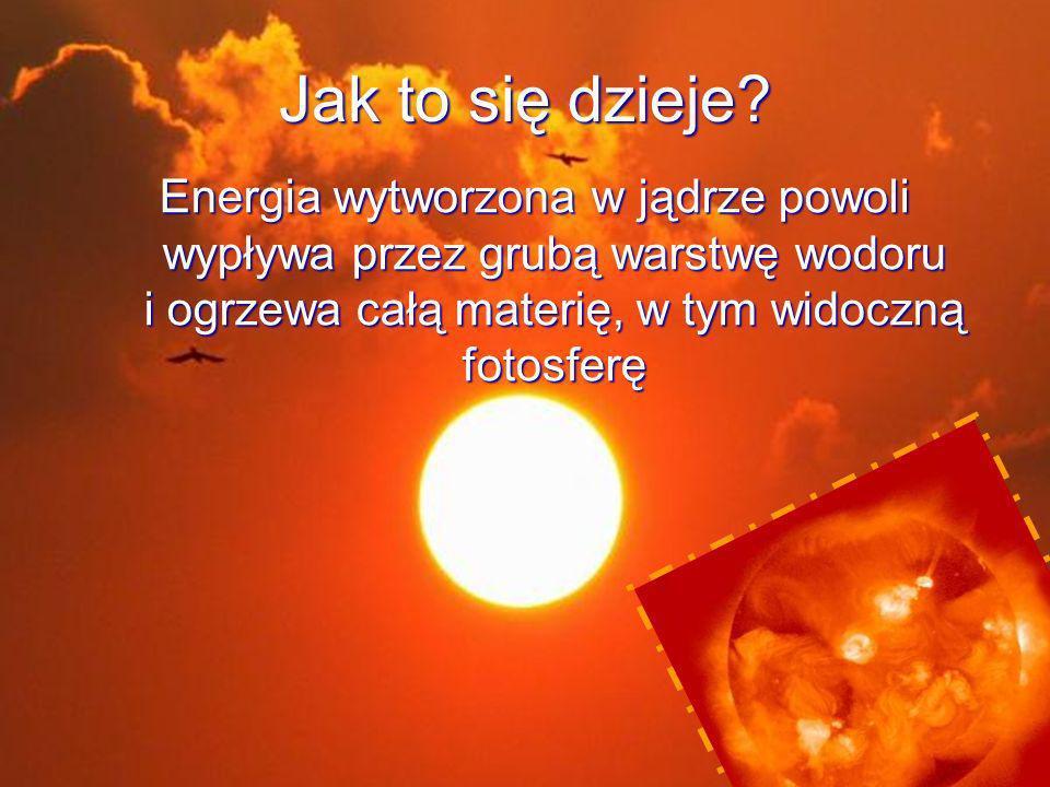 Zorze Naładowane elektrycznie cząstki ze Słońca wywołują zjawisko zorzy polarnej w górnych warstwach ziemskiej atmosfery.