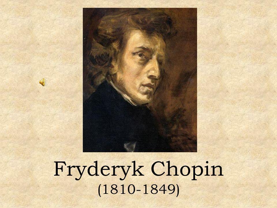 Fryderyk Franciszek Chopin, najwybitniejszy polski kompozytor, urodził się w 1810 roku w Żelazowej Woli (ok.