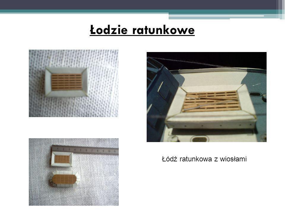 Łodzie ratunkowe Łódź ratunkowa z wiosłami