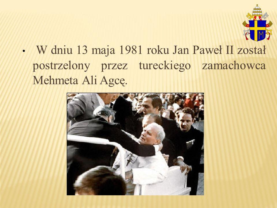 Papież cudem przeżył.