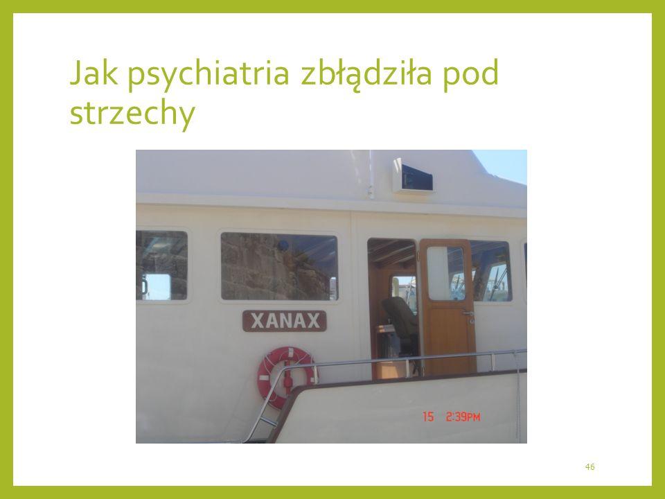 Jak psychiatria zbłądziła pod strzechy 46