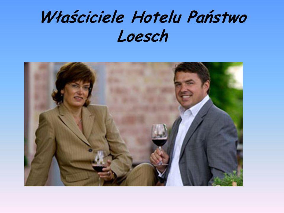 Właściciele Hotelu Państwo Loesch