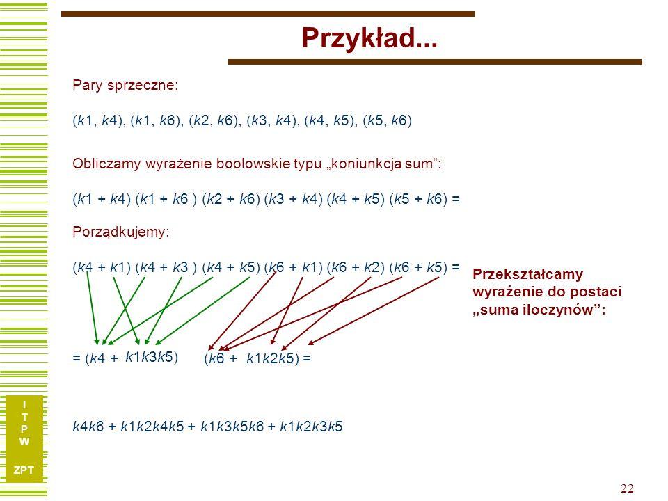 I T P W ZPT 22 Przykład...