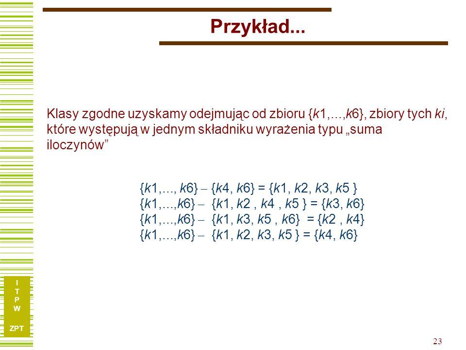 I T P W ZPT 23 Przykład...