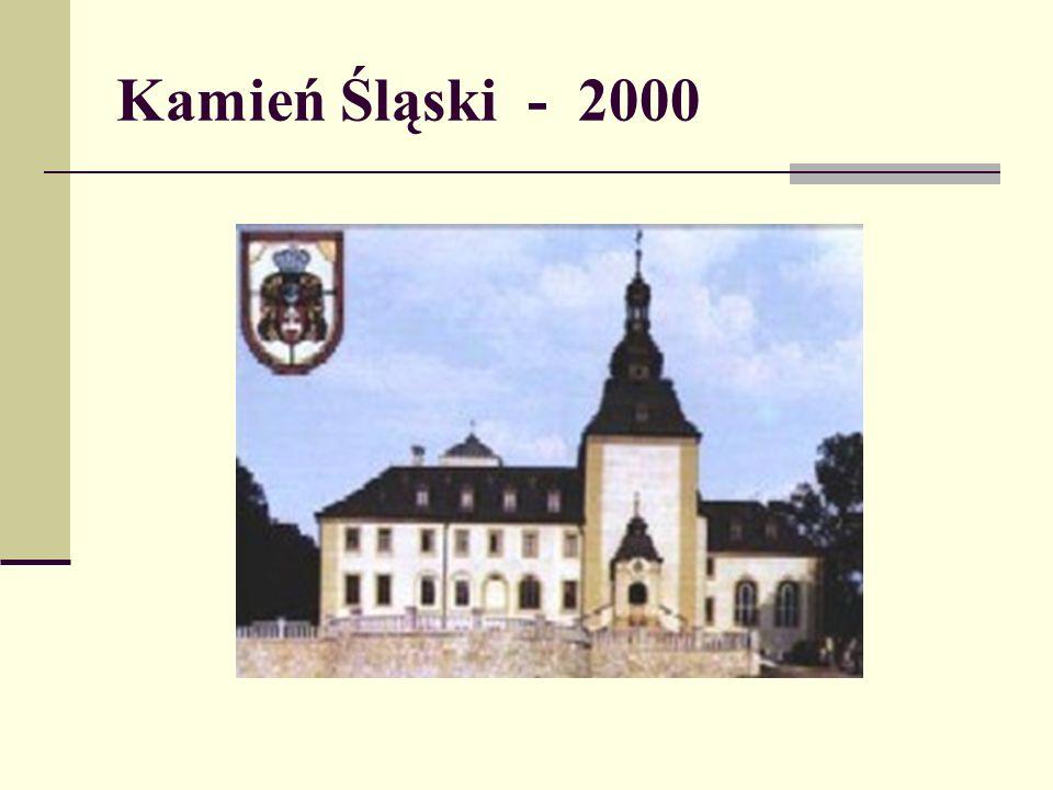Kamień Śląski - 2000