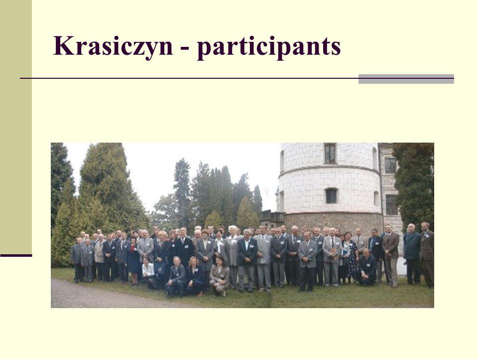 Krasiczyn - participants