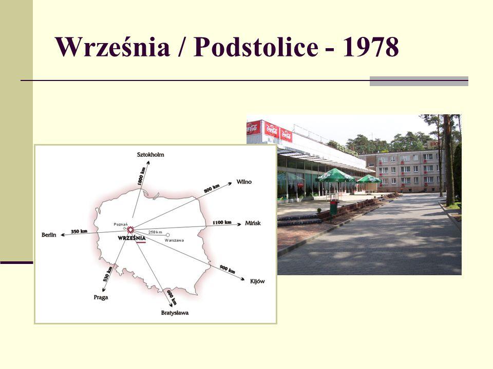 Września / Podstolice - 1978