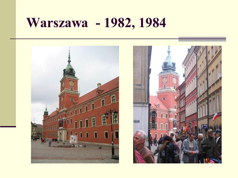 Warszawa - 1982, 1984
