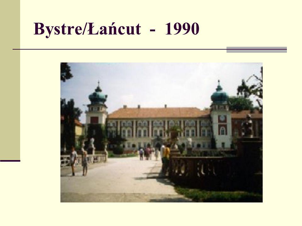 Bystre/Łańcut - 1990