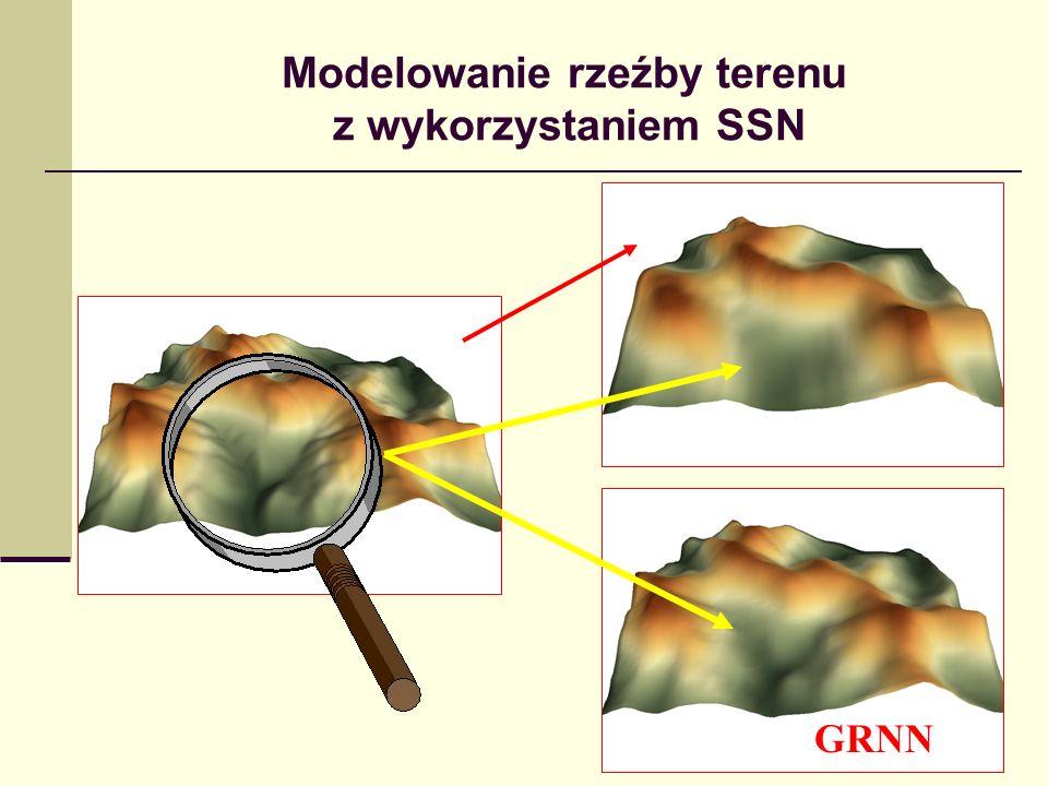 Modelowanie rzeźby terenu z wykorzystaniem SSN RBF GRNN