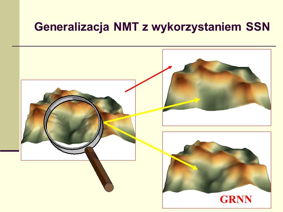 Generalizacja NMT z wykorzystaniem SSN RBF GRNN
