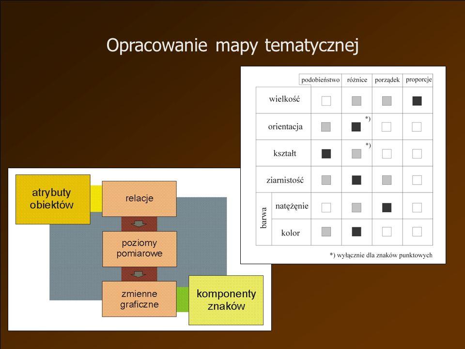 Opracowanie mapy tematycznej