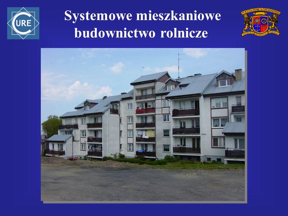 Systemowe mieszkaniowe budownictwo rolnicze