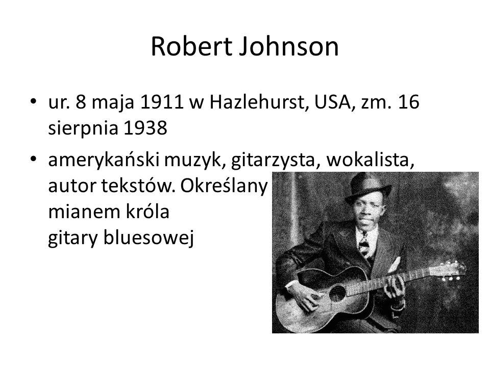 Blind Lemon Jefferson ur.15 października 1884, zm.