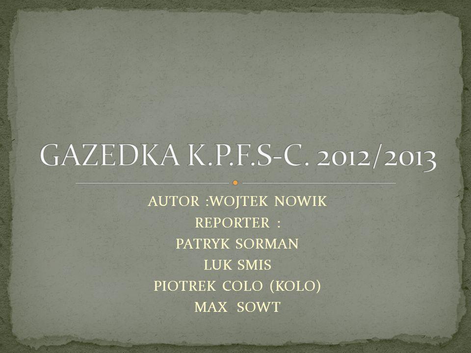 GAZETKA WAZNA DO : 12/01/2013