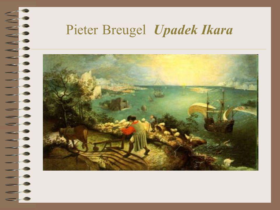 Pieter Breugel Upadek Ikara