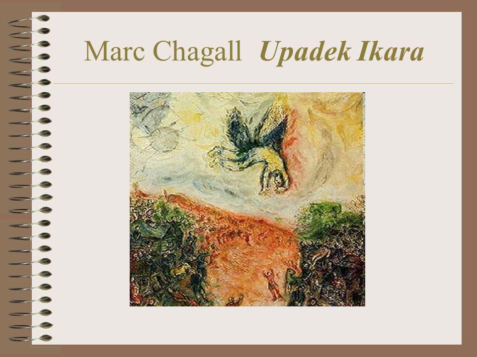 Marc Chagall Upadek Ikara