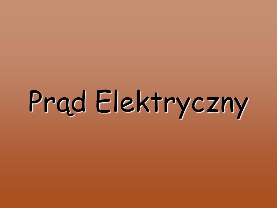 Prąd elektryczny zmienny Prąd zmienny to taki prąd elektryczny, którego wartość w czasie ulega zmianie.