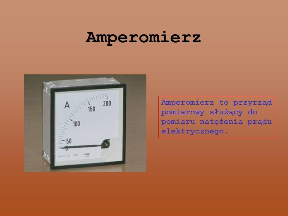 Przyrządy pomiarowe Amperomierz Licznik energii elektrycznej Watomierz Woltomierz