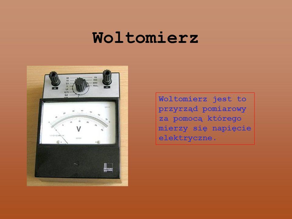 Watomierz Watomierz to miernik wskazujący aktualny pobór Mocy Czynnej w obwodzie.