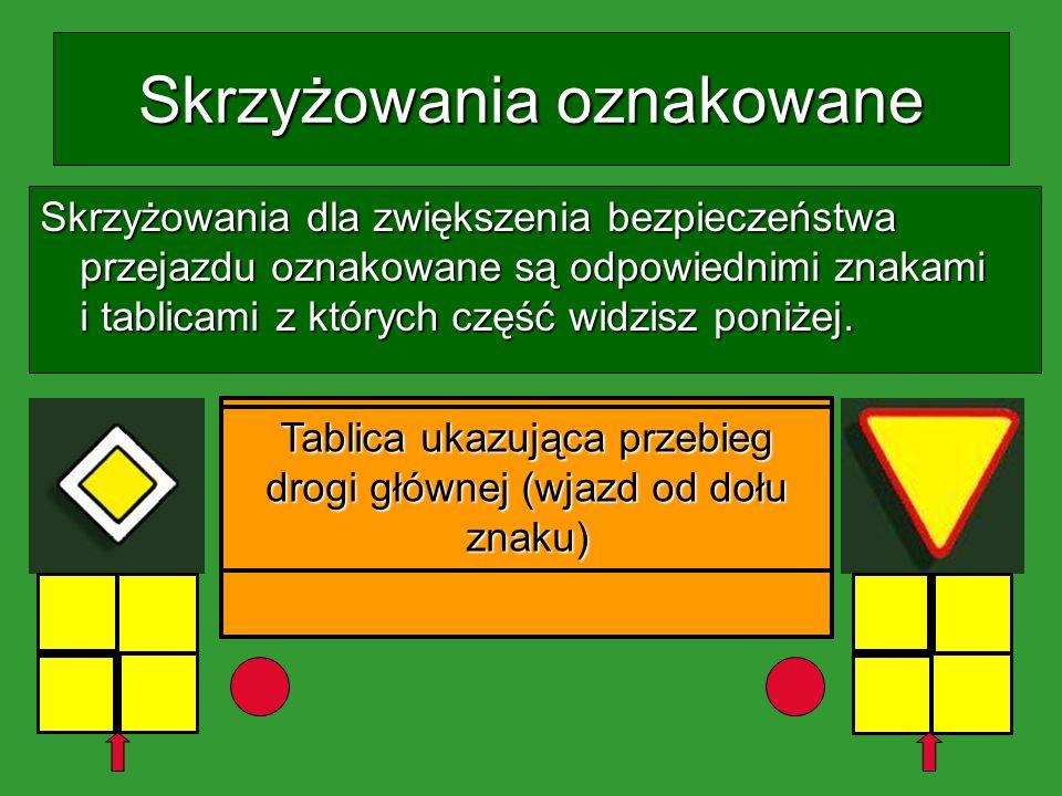 Zasady pierwszeństwa Skrzyżowania dróg oznakowane cz. 2