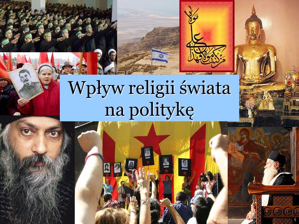 Wpływ religii świata na politykę