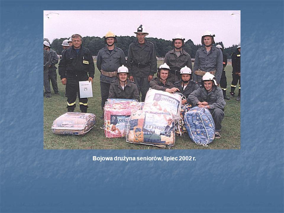 Bojowa drużyna seniorów, lipiec 2002 r.